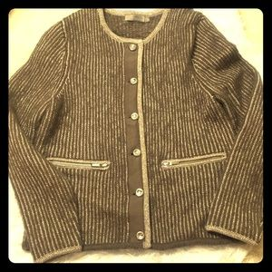 Sweaters - Gustav Sweater Jacket Size 40